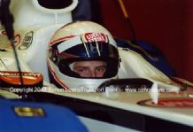 Anthony Davidson.BAR Honda 004 F1  Silverstone test 2002 photo (b)